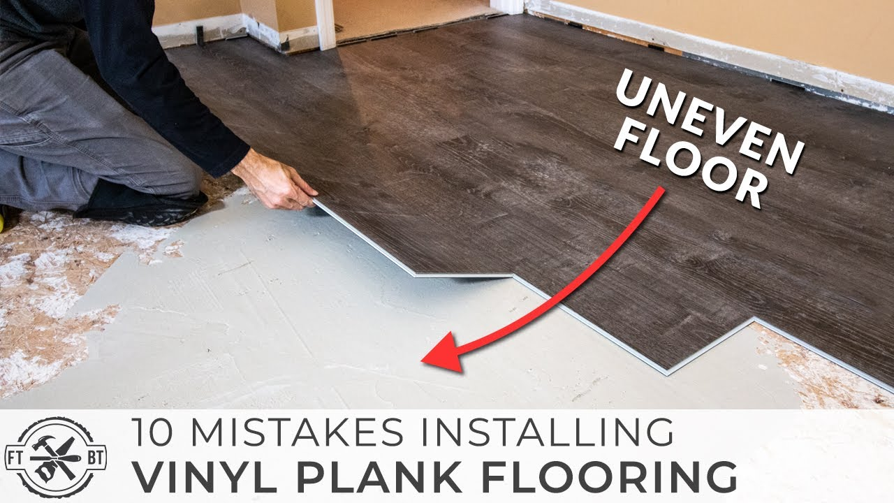 What you need to know before installing   vinyl plank floors