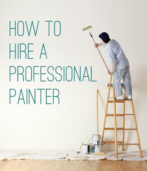 Hiring a Professional Painter + Winners | Professional painters .