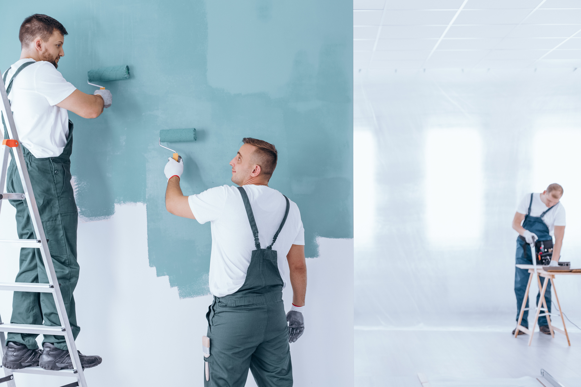 Why is it important to hire painters and   paint the house?