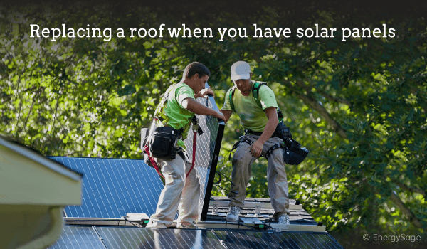 How Do I Replace My Roof With Solar Panels? | EnergySa