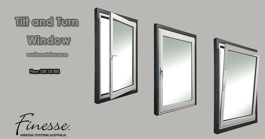 Buy Perfect Tilt and Turn Window for Home in Melbourne, Australia .