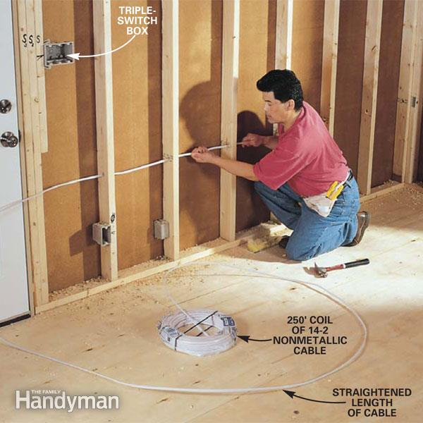How to Rough-In Electrical Wiring | The Family Handym