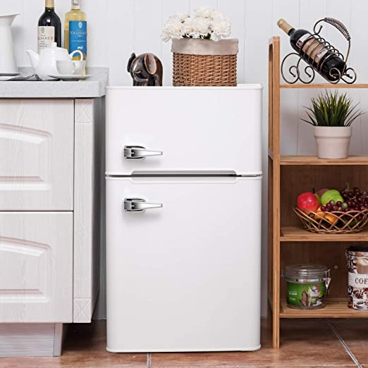 Amazon.com: 3.2 CU. FT Compact Refrigerator with Handle MIni .