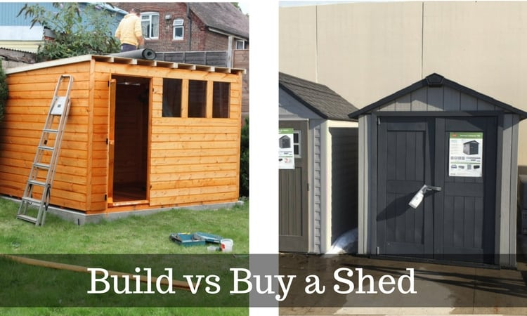 Build or Buy a Shed: Is it Cheaper to Build Your Ow