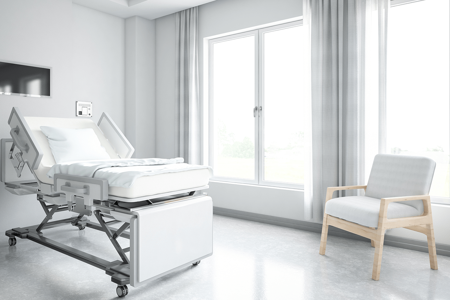 Window treatment considerations for   hospitals and healthcare facilities
