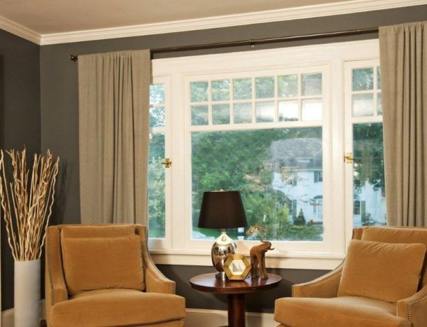 7 Curtain Ideas For The Large Windows At Home | Big window .