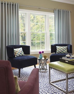 Window treatment ideas for a large room