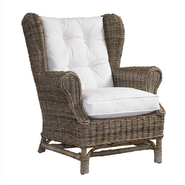 Gracie Oaks Bullis Wingback Chair & Reviews | Wayfa