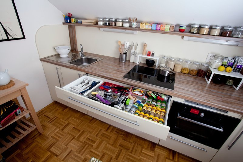 8 Ways to Create Extra Counter Space in a Tiny Kitchen | Real Simp