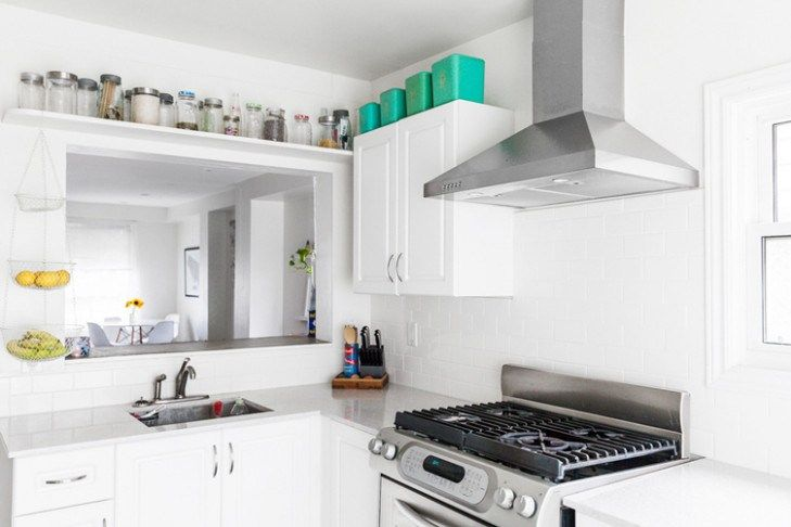 12 New Thoughts About Working In A Kitchen Without Cabinets And .
