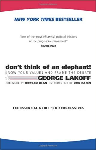 Don't Think of an Elephant!: Know Your Values and Frame the Debate .
